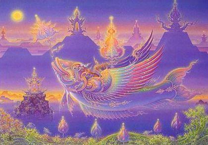 Chalermchai Kositpipat mind in nirvanachalermchai kositpipat #art | painting & drawing