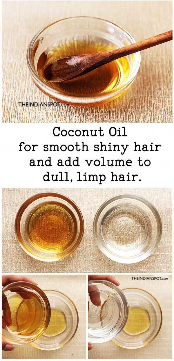 DIY Masque Masque capillaire à l'huile de noix de coco
