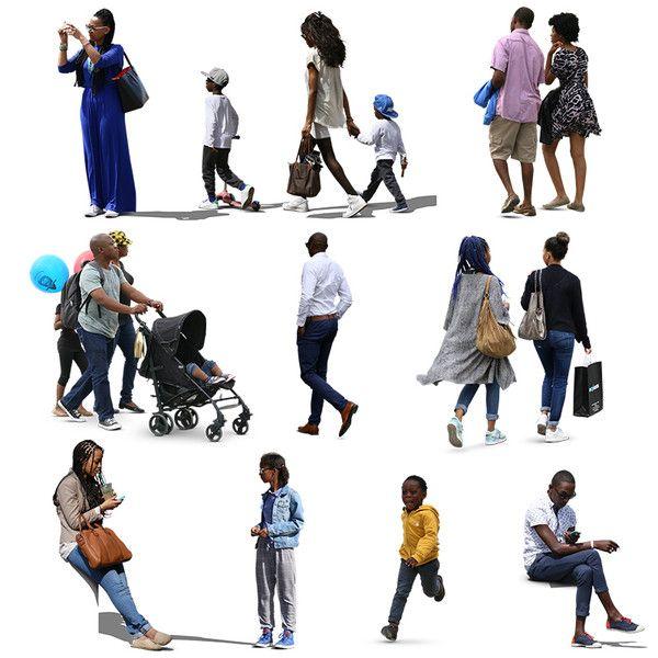 Texture Psd African People Black Silhouette People Render People People Png