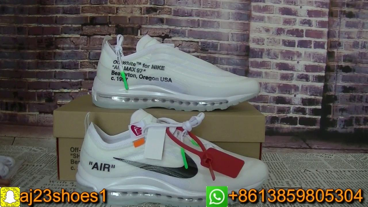 965485552e1 OFF White x Air Max 97 EXCLUSIVE Review  The Ten  Unboxing