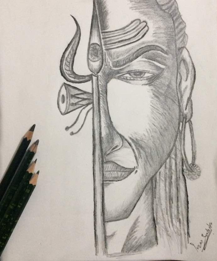 Lord Shiva Pencil Sketch Creationofthecreator Thedestroyer Lordshiva Adiyogi Shambhu Bamb Pencil Drawings Of Love Healthy Dinner Recipes Easy Kids Meals