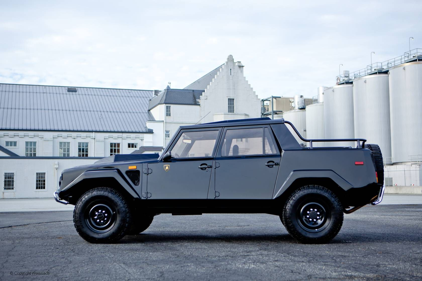1988 Lamborghini LM 002 5-Speed Manual, Black with Black Leather Interior, V12, 5-Speed Manual. www.weissach.com
