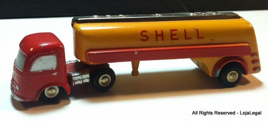 Gift Idea: #Vintage SCHUCO PICCOLO #742 #Shell Die Cast Zinc Petro Tanker #Toy #Truck - VERY RARE #Schuco #MercedesBenz