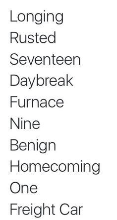 Some people just thinks this is a random list of words      Bucky up