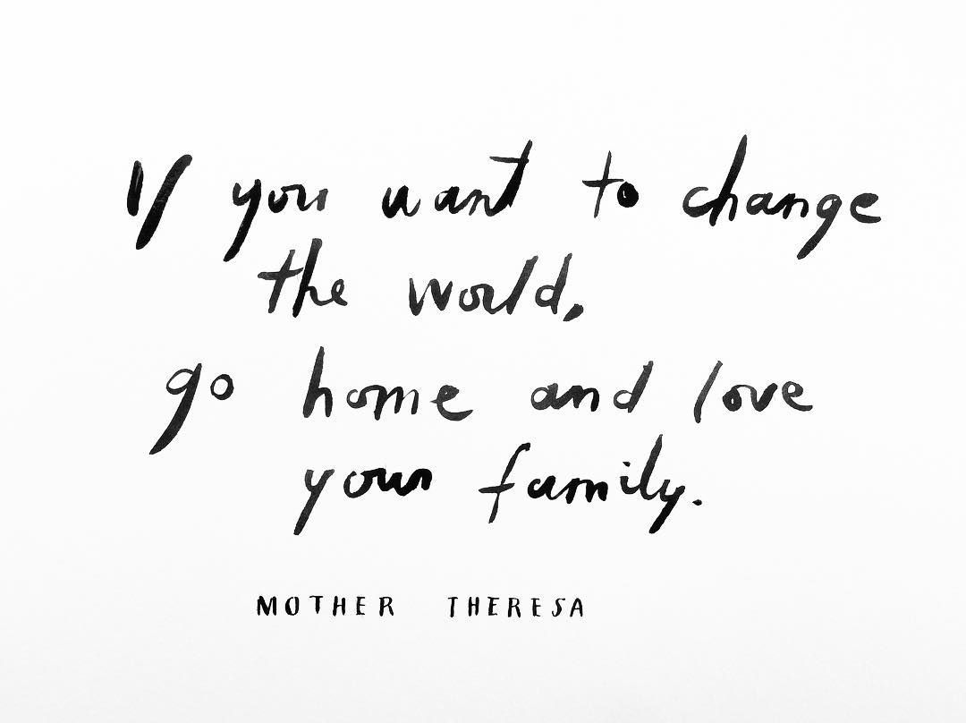 Mother Teresa Wordsjust Words Quotes Family Quotes