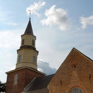 Enjoy the historical architecture of Colonial Williamsburg