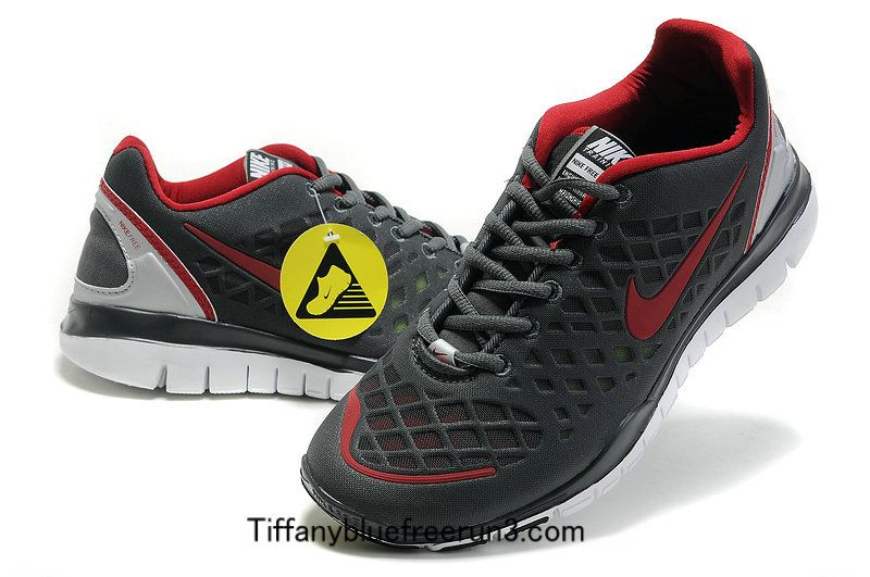 b49c9f313e35 Nike Free TR Fit Men s Dark Grey Rio Red 429785 001