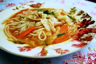 Korean food spicy chicken noodle soup noodle soup noodle and korean food spicy chicken noodle soup by aeriskitchen via flickr forumfinder Choice Image
