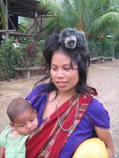 Ashaninka Milagros Salazar Peruana-Amazonas.