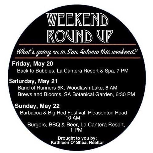 "Solve the ""what to do this weekend"" debate!!! #SArealtor #SArealestate #realtor #sanantonio #realestate #weekend #weekender"