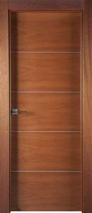 Puerta de entrada mi depa proyecto puertas de madera for Modelos de puertas de madera modernas