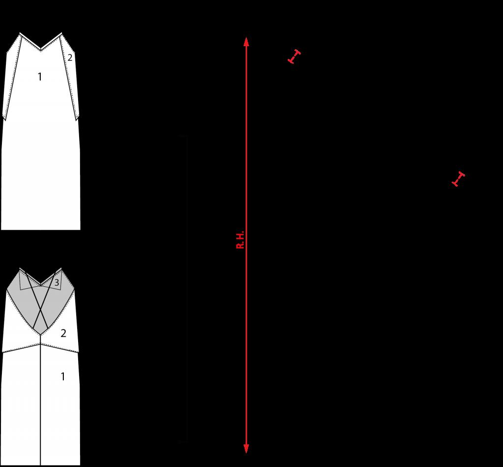 Patrón vestido lencero cero residuos zero waste | patrones ...