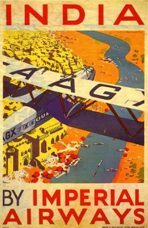 Imperial Airways _____________________________ Inde ~ इंडिया ~ India