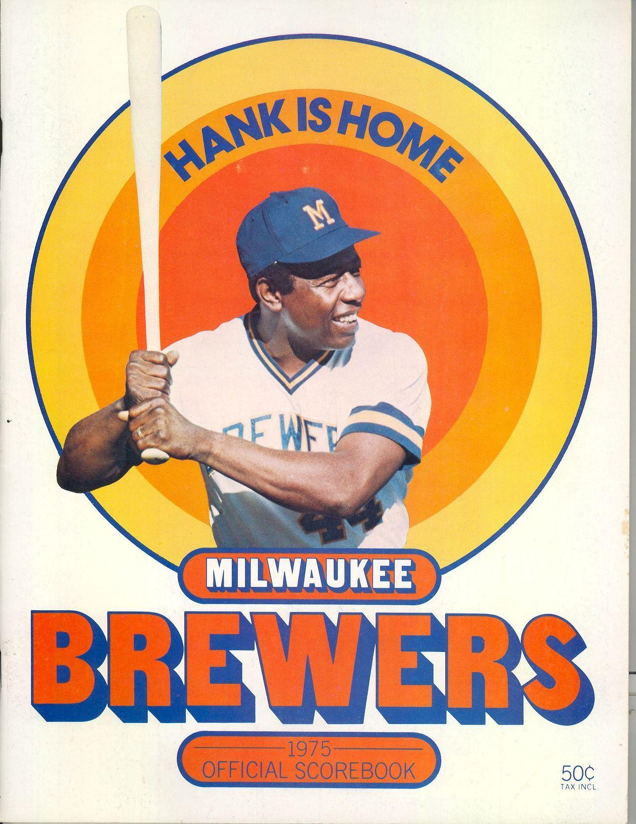 1975 Brewers Milwaukee Brewers Baseball Milwaukee Brewers Brewers Baseball