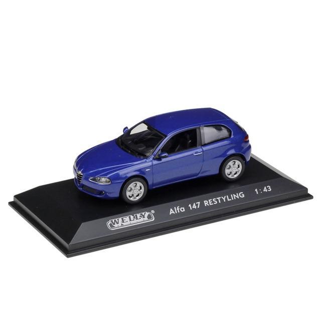 WELLY 1:43 Metal Model Toy Car Volvo/ALFA/ Porsch/Audi