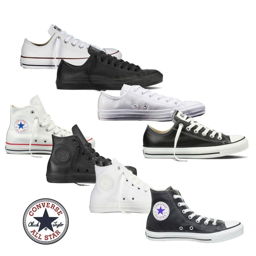 Converse Chucks Taylor All Star HILow Leder Herren Schuhe
