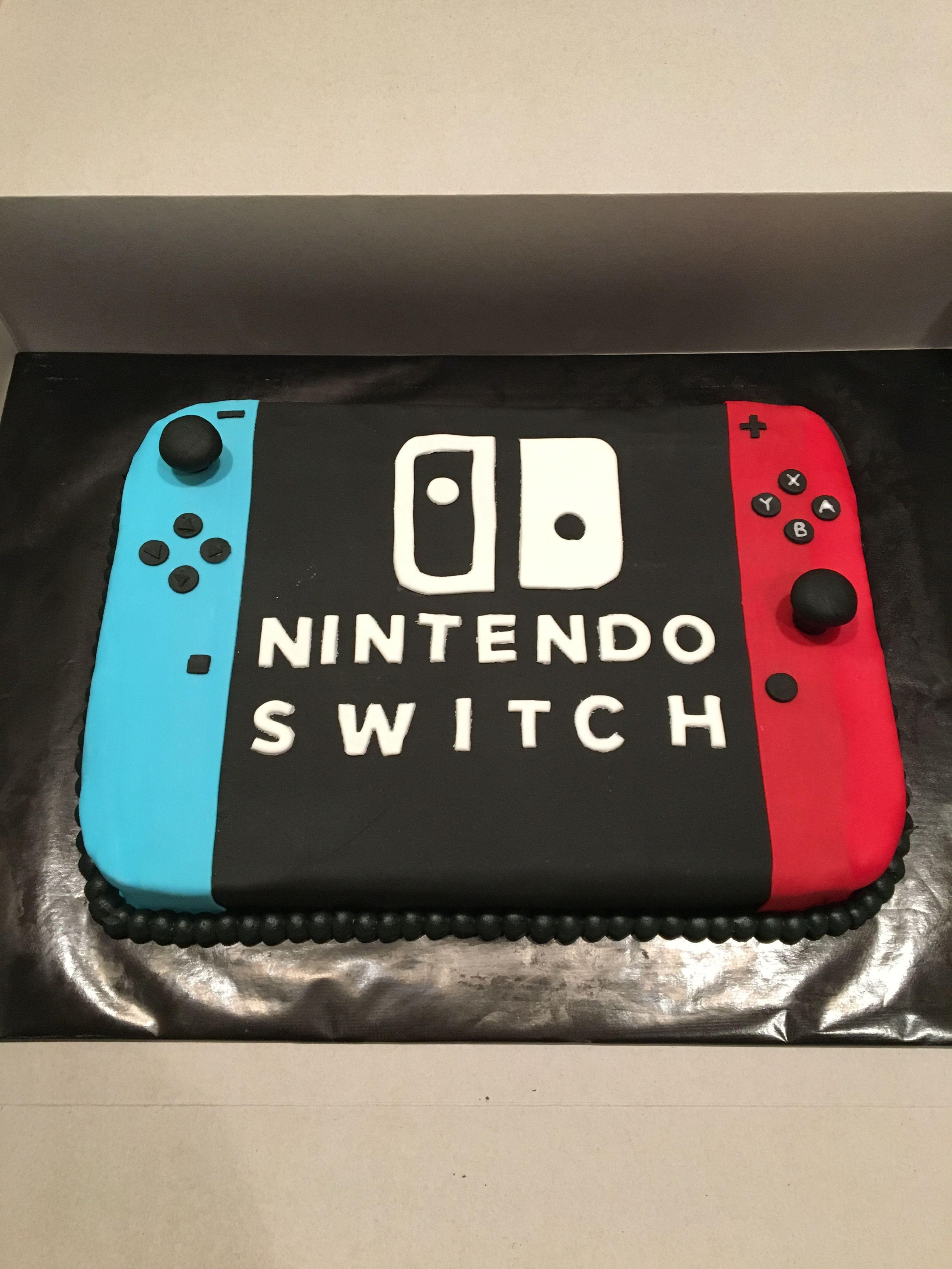 Nintendo Switch Cake Nintendoswitch