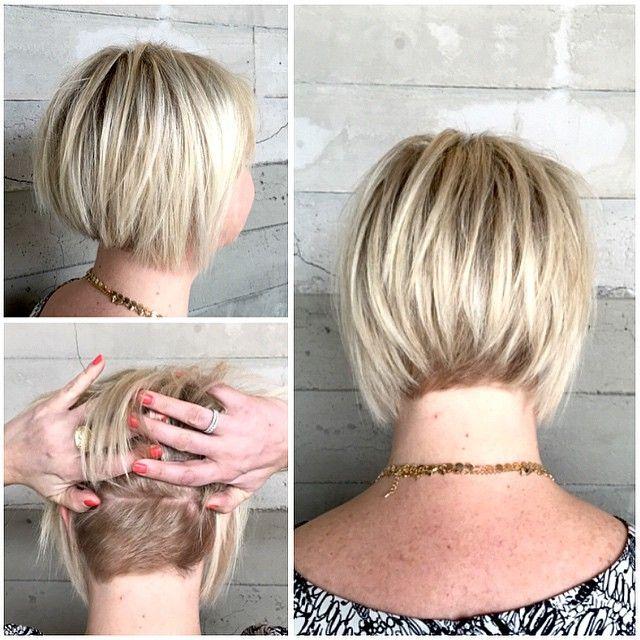 Alexis Thurston On Instagram Fine Hair Textured Bob With Dimensional Blonde If Done The Right Way Short Choppy Haircuts Short Choppy Hair Choppy Haircuts