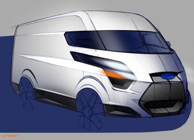design development ford transit courier connect custom. Black Bedroom Furniture Sets. Home Design Ideas