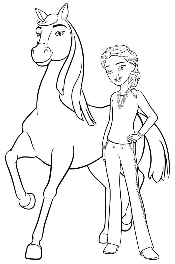Spirit Riding Free Coloring Pages Best Coloring Pages For Kids Horse Coloring Pages Free Coloring Pages Coloring Pages