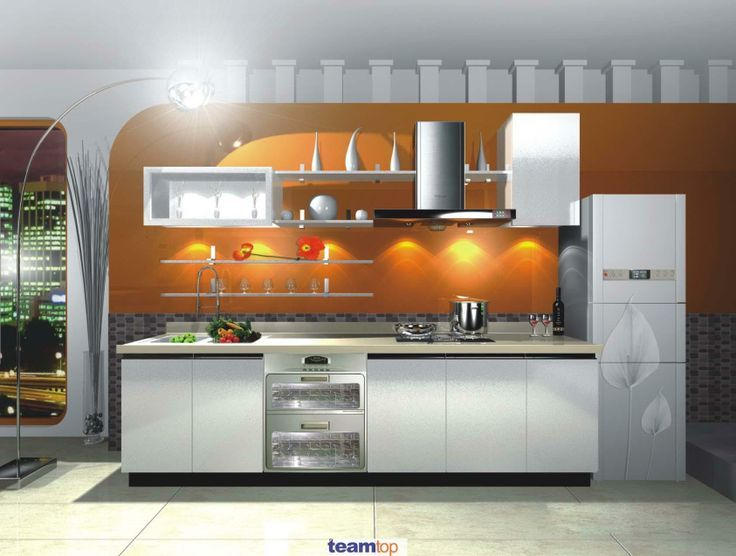 melamine-pvc-lacquer-kitchen-cabinet-with-simple-f-how-to ...