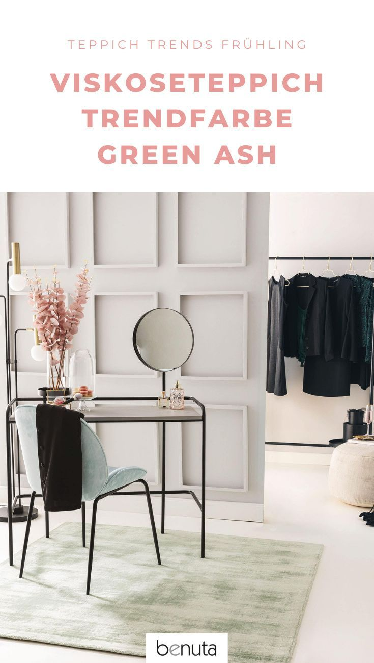 """""""Green Ash"""" - Teppich Trendfarben Frühling & Sommer 2021 ..."""