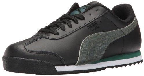 c70bdf13ac120a Puma 363413-01   Men s Roma Basic Holo Fashion Sneaker Black (10.5 D(M) US)