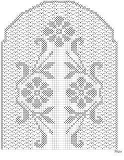 toalha de mesa - branca | Receitas do Croche Croche!