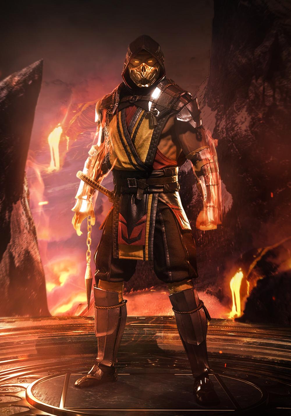 Artstation Mortal Kombat 11 Ice And Fire Mizuri Au Scorpion Mortal Kombat Mortal Kombat Art Mortal Kombat