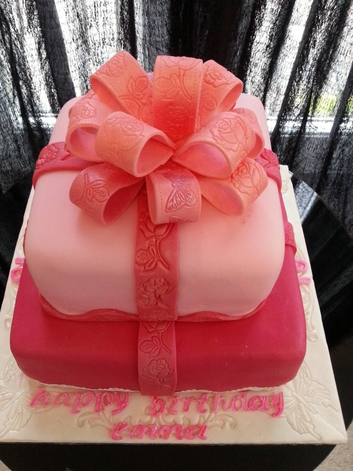 2 Tier Chocolate 18 Th Birthday Cake Httpsbirthdaysdurban