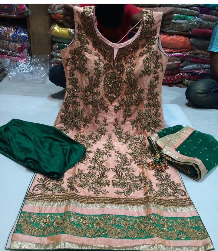 Pin By Neetu Gagan Gauba On Mehndi: Pin By Bridal And Partywear Outfits On Wedding Party Wear