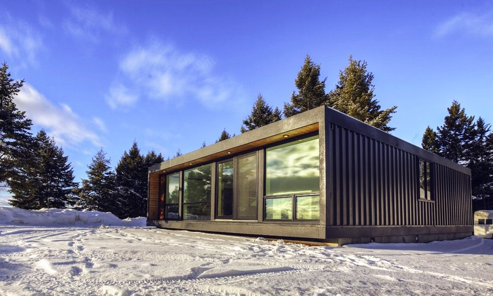 10 Shipping Container Houses That Will Make You Want To Live In The Box Container Homes Cost Shipping Container Homes Cost Container House Design