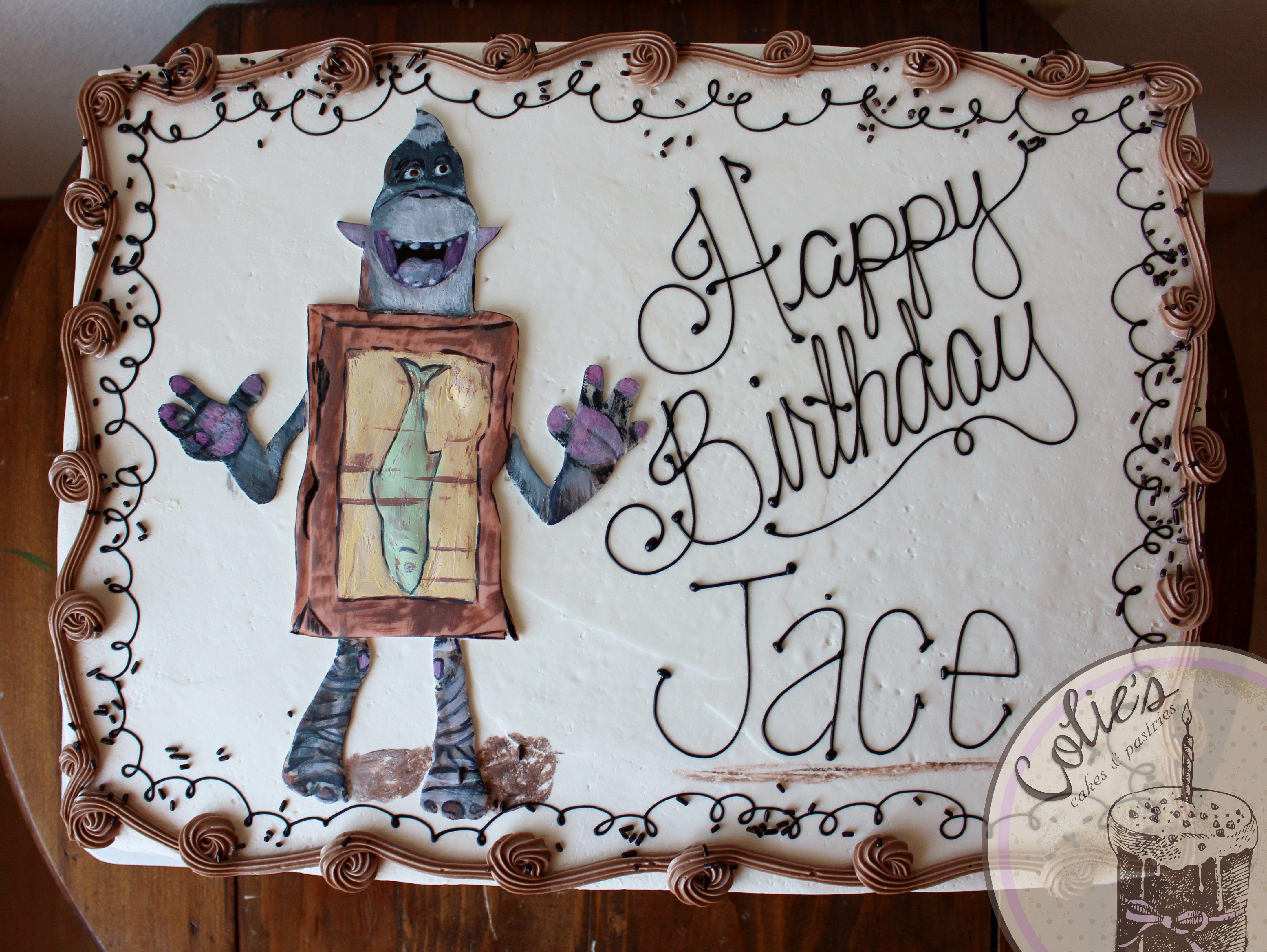 Box Trolls Cake Troll Fish Birthday