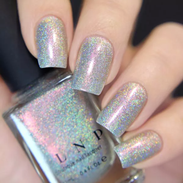 Rosewater - Red to Gold Color Kissed Ultra Holographic Nail Polish by ILNP
