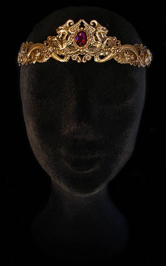 Medieval Fantasy Crown Adult Game of Thrones Tiara Accessory