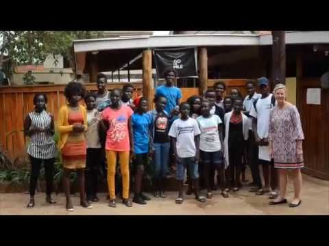 A message of hope from Uganda (Merethe Soltvedt - You Can Go Miles