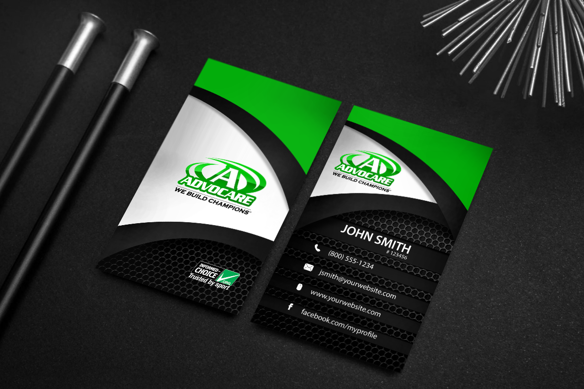 Brand new Advocare contact cards are here! #mlm #advocare ...