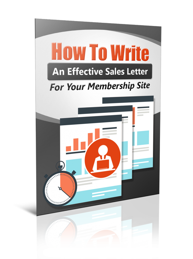 Write Membership Sales Letter Ebook With Mrr Table Of Content The