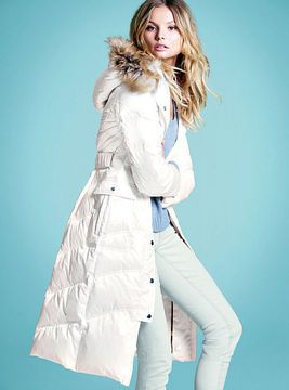 e1fb64ae3d Long Puffer Coat on shopstyle.com | Chic Coating Trends | Pinterest ...
