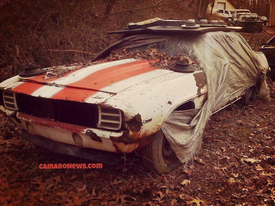 69 Camaro Pace Car Shame