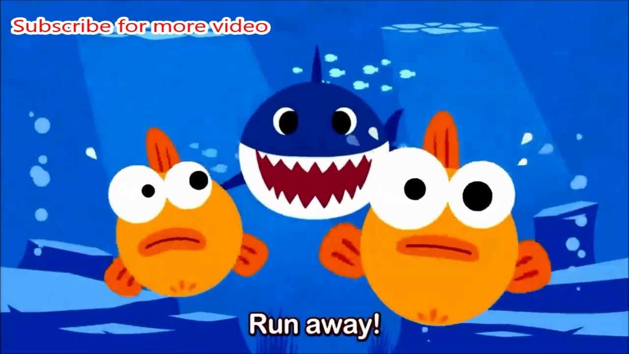 Baby Shark Run Away Gif | Meme Baby