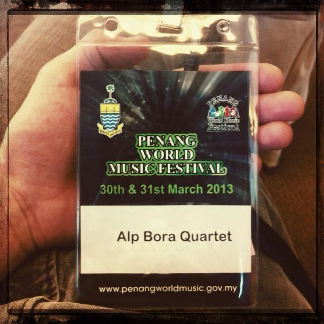 PENANG w/ Alp Bora Quartet