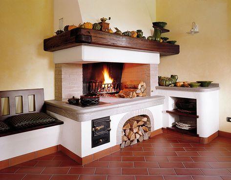 Caminetto tradizionale su misura rustico gover srl for Arredamento rustico italiano