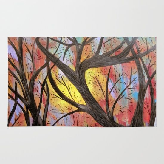 Tree+branches+Rug+by+Maggs326+-+$28.00