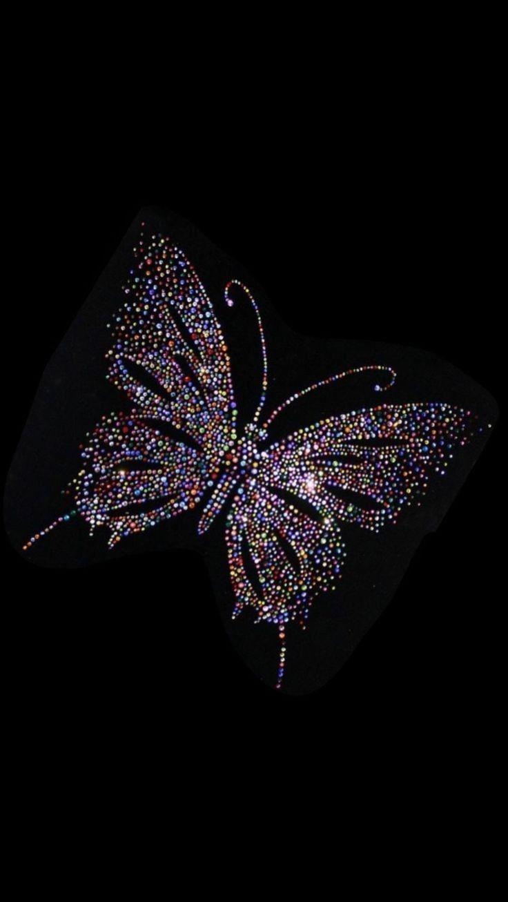 All Glitters...   Glitter wallpaper, Butterfly wallpaper ...