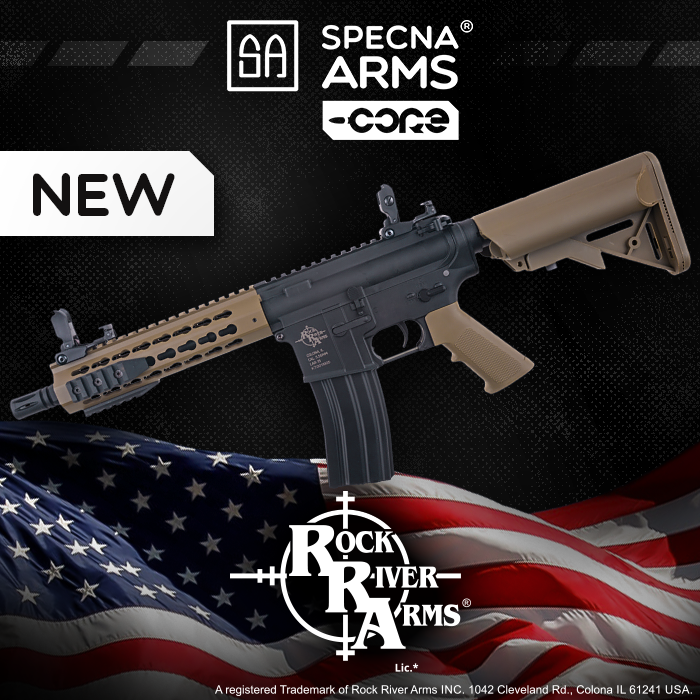The new, licensed line of Specna Arms CORE™ replicas is now