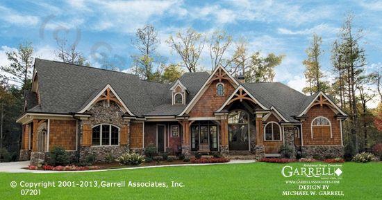 Amicalola Cottage 07201 3956 Garrell Associates Inc Craftsman House Plans Mountain House Plans Craftsman House