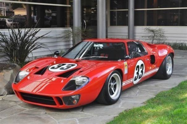 1966 Gt40 Ford Gt40 Ford Gt Vintage Cars