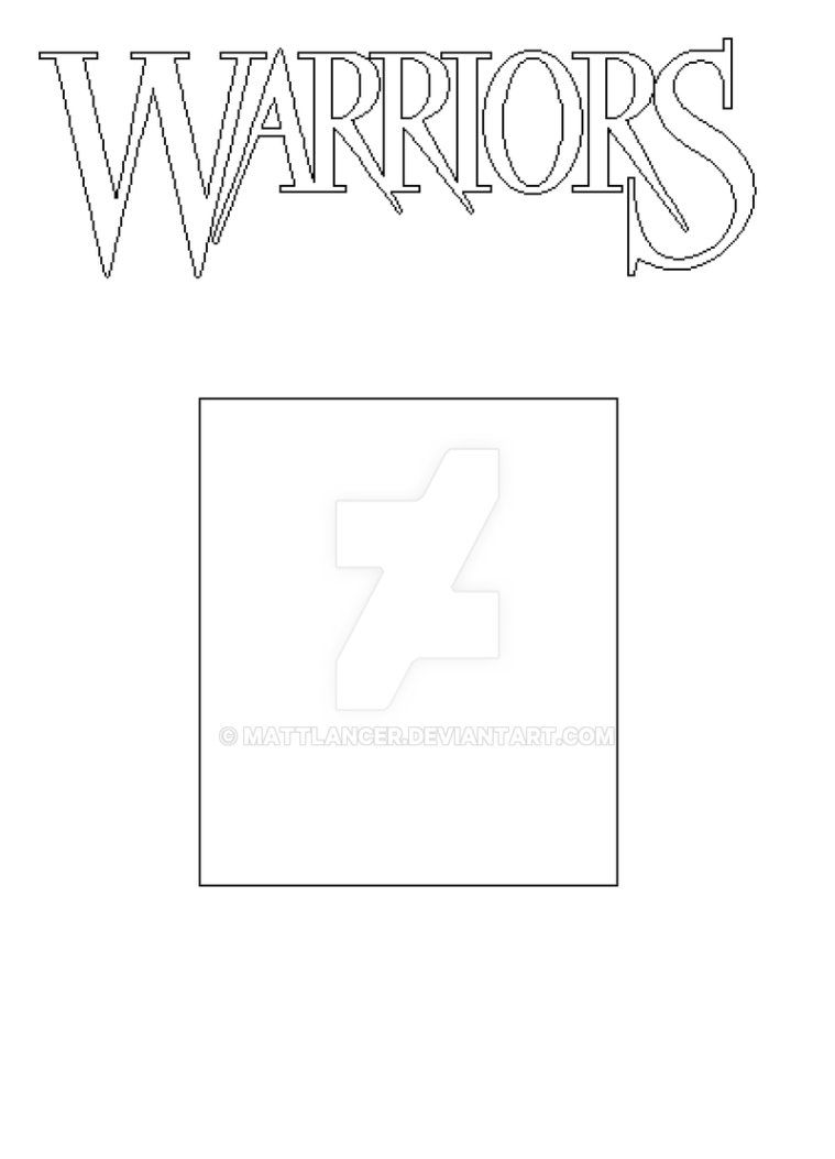 Warrior Cat Book Cover Base Warriors Book Cover Template