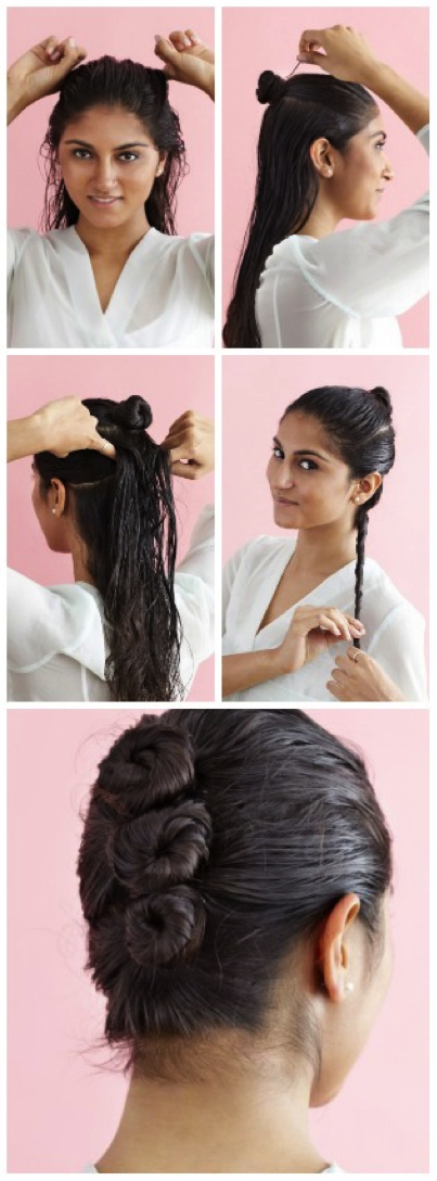5 Ways To Wear Wet Hear To Work Wet Hair Dos Work Hairstyles Hair Styles